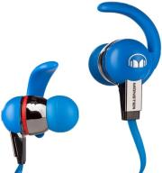 monster isport immersion in ear headphones with controltalk blue photo