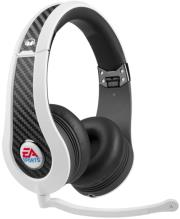monster game mvp carbon on ear headphones by ea sports white photo