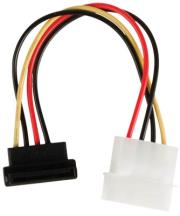 valueline vlcp73505v015 power adapter cable sata 15 pin female 90 angled molex male 015m photo