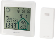 hama 186412 action weather station white photo