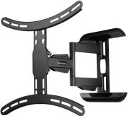 hama 118619 fullmotion tv wall bracket 3 stars 65 black photo