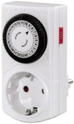 hama 121950 mini mechanical daily timer white photo