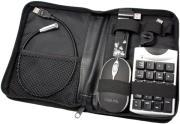 logilink ua0010a usb notebook travel kit with hub mouse keypad light photo
