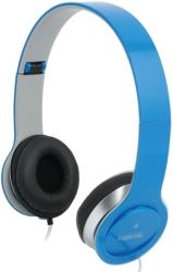 logilink hs0031 smile stereo high quality headset with microphone blue photo