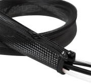 logilink kab0048 cable flexwrap with zipper 50mm 1m black photo