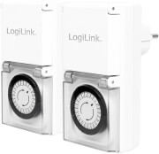 logilink et0006a outdoor mechanical timer switch ip44 2pcs photo
