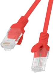 lanberg patchcord cat5e 2m red photo