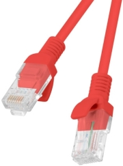 lanberg patchcord cat6 20m red photo