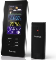 HAMA 136294 COLOR EDGE ELECTRONIC WEATHER STATION BLACK