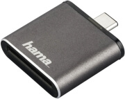hama 124186 usb 31 card reader sd uhs ii usb 31 type c grey photo