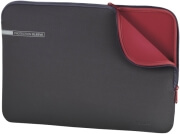 "HAMA 101548 NEOPRENE NOTEBOOK SLEEVE 11.6"" GREY/RED"