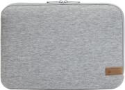 hama 101807 jersey notebook sleeve 156 light grey photo