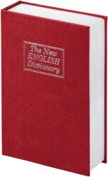 hama 50531 bs 180 book safe the new english dictionary design red photo