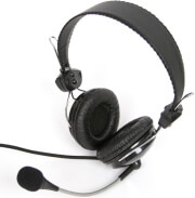 fiesta fis 066 comfortable headset with adjustable microphone photo