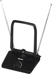 hama 121664 dvb t dvb t2 indoor antenna performance 35 classic design active black photo