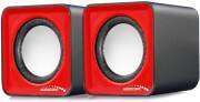 audiocore ac870r computer speakers 20 6w usb red black photo