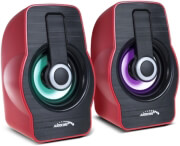 audiocore ac855r computer speakers 20 6w usb red photo