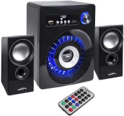 audiocore ac910 bluetooth 21 speaker system fm radio tf card input aux usb photo