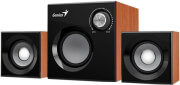 genius sw 21 370 21 speaker system wood photo