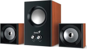 genius sw 21 375 21 speaker system wood photo