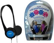 maxell kids headphones blue photo