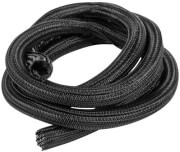 lanberg 19mm cable sleeve self closing 2m black photo