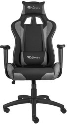 genesis nfg 1533 nitro 440 gaming chair black grey photo