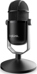 logilink hs0048 usb microphone in high definition studio grade photo
