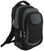 laptop notebook backpack 156 black grey photo