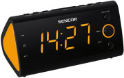 sencor src 170 or radio alarm clock orange photo
