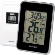 SENCOR SWS 25 BS WIRELESS THERMOMETER WITH WIRELESS SENSOR BLACK/SILVER
