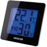 SENCOR SWS 1500 B THERMOMETER WITH ALARM CLOCK BLACK