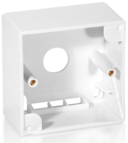 equip 761302 back box for face plate 761301 pure white photo