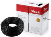 equip 40441007 u utp outdoor installation cable cat5e black 305m photo