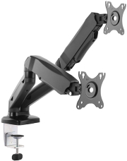 equip 650121 13 27 interactive dual monitor desk mount bracket photo