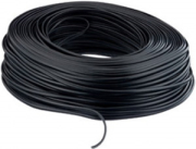 equip 117006 telephone cable rj 11 4 wire 100m black photo