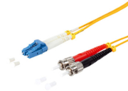 equip 254233 lc st fiber optic patch cable os2 3m photo