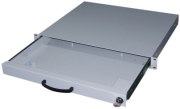 equip 260410 19 keyboard drawer 1u for keyboard and mouse grey photo