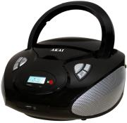 akai aprc 9236 radio cd player mp3 usb black photo