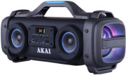 akai abts sh01 portable bluetooth speaker 51w karaoke with led usb aux in photo