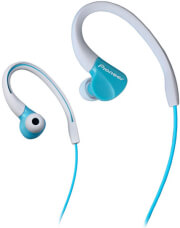 pioneer se e3 fully enclosed dynamic headphone ipx 2 water resistant turquoise photo