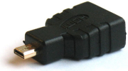 savio cl 17 hdmi af micro hdmi m type d adapter v14 gold plated adapter photo