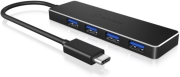 raidsonic icy box ib hub1410 c3 4 port usb 30 type c hub photo