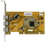 dawicontrol dc 1394 pci 3 1 ieee 1394 firewire controller photo