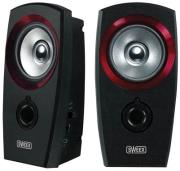 sweex sp041 20 speaker set usb black red photo