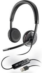 plantronics blackwire c520 m over the head binaural usb headset usb headset microsoft lync photo