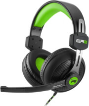 sharkoon rush er2 gaming stereo headset green photo