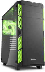case sharkoon ai7000 glass green photo
