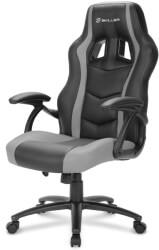 sharkoon skiller sgs1 gaming seat black grey photo