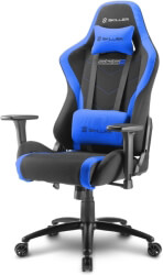 sharkoon skiller sgs2 gaming seat black blue photo